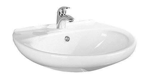 AquaSu Waschtisch Aveiro | 60 cm | Weiß | Waschbecken